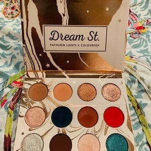Colourpop x Kathleen Lights Dream Street Palette